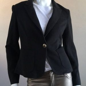 BEULAH Military Style Cropped Jacket.